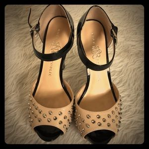Rock & Republic studded heels